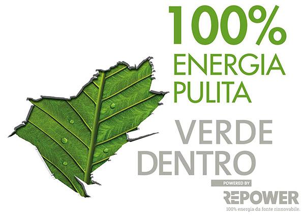 Repower 100% energia pulita
